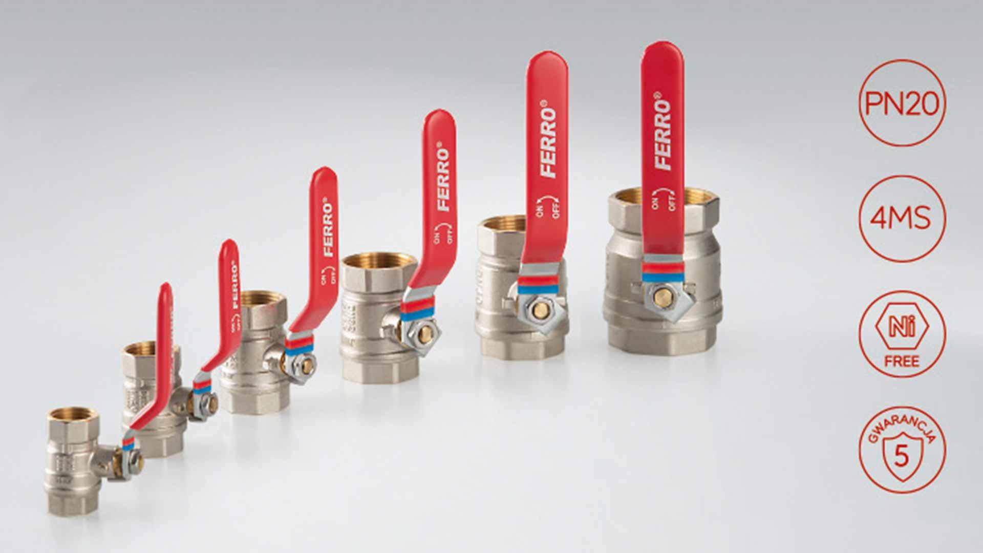 Ferro wprowadza nowy standard wzmocnionego mosiądzu 4MS - Ferro F-Comfort